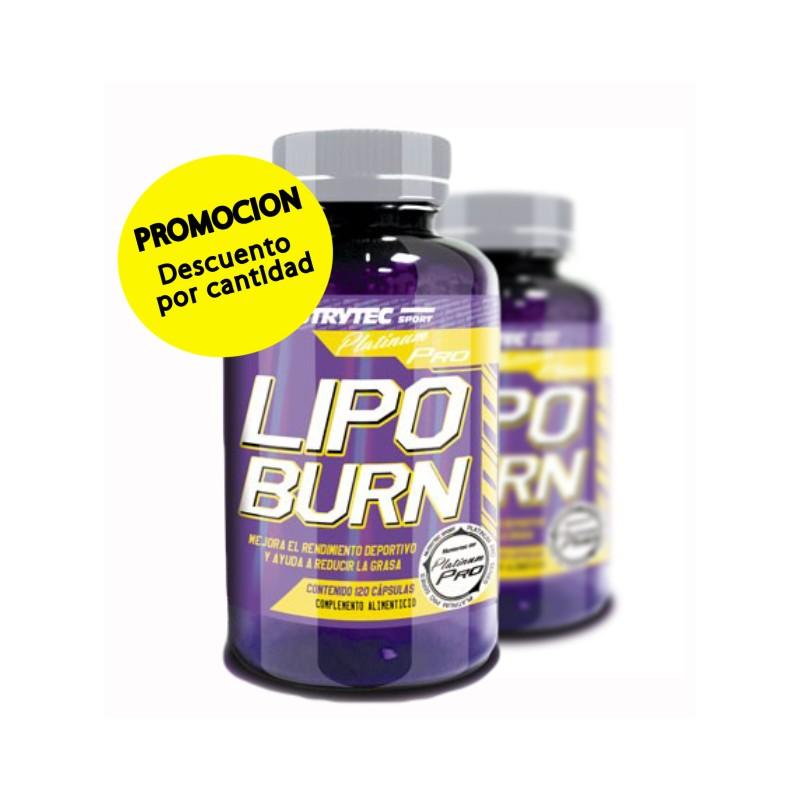 Pack de 2 Lipo Burn 120 cáps. - Muscleofertas.com